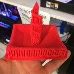 Print just finished now to remove all these supports!